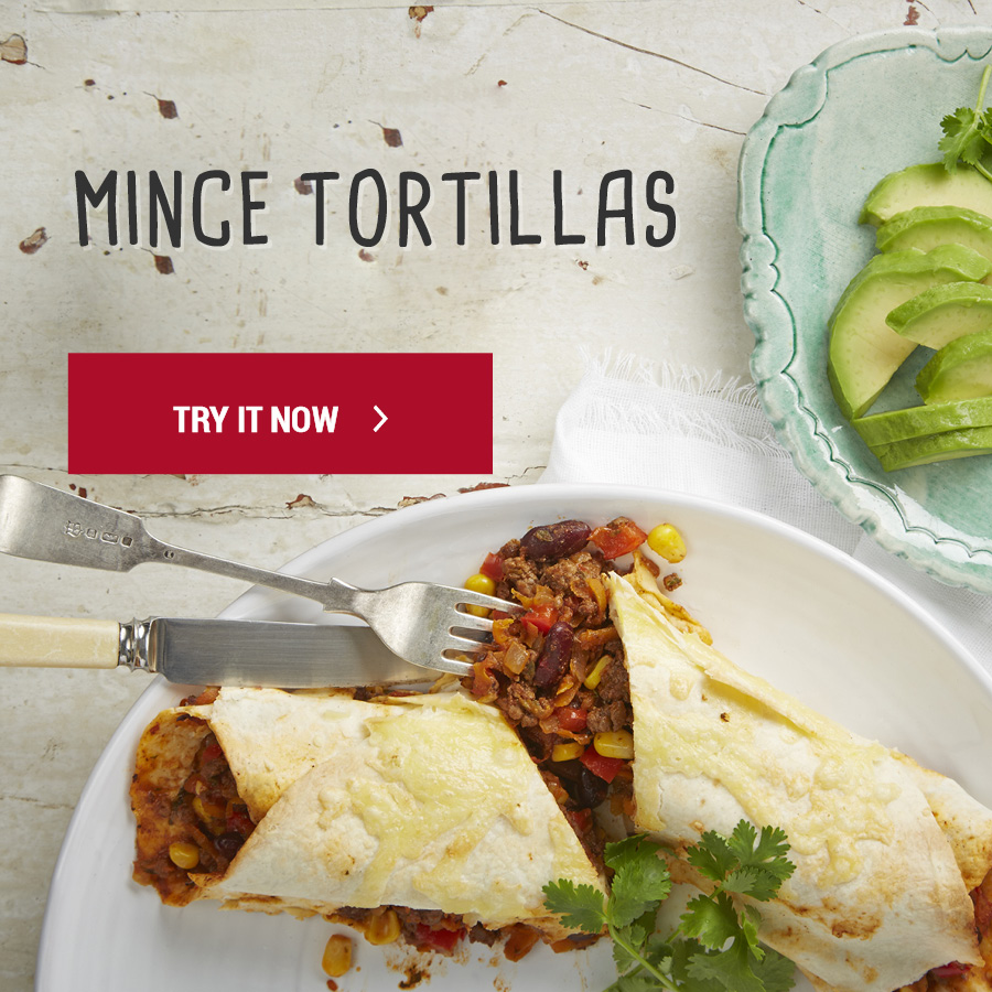 Mexican Mince Tortillas