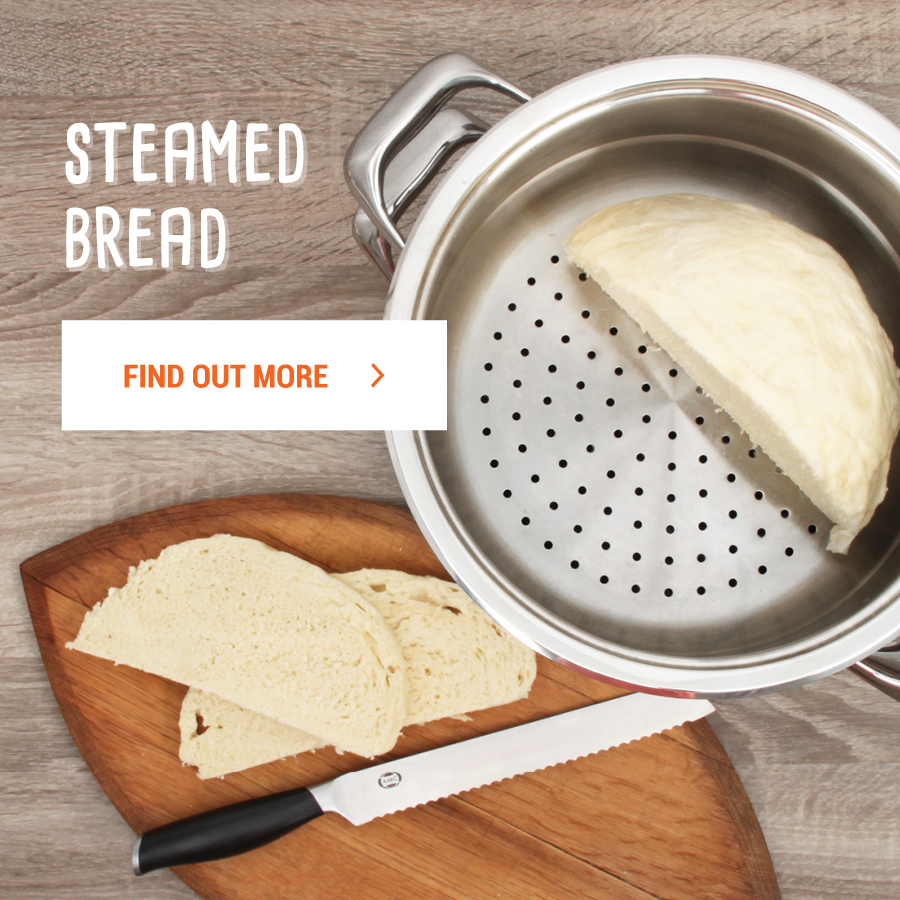 Steamed Bread in 24cm Steamer