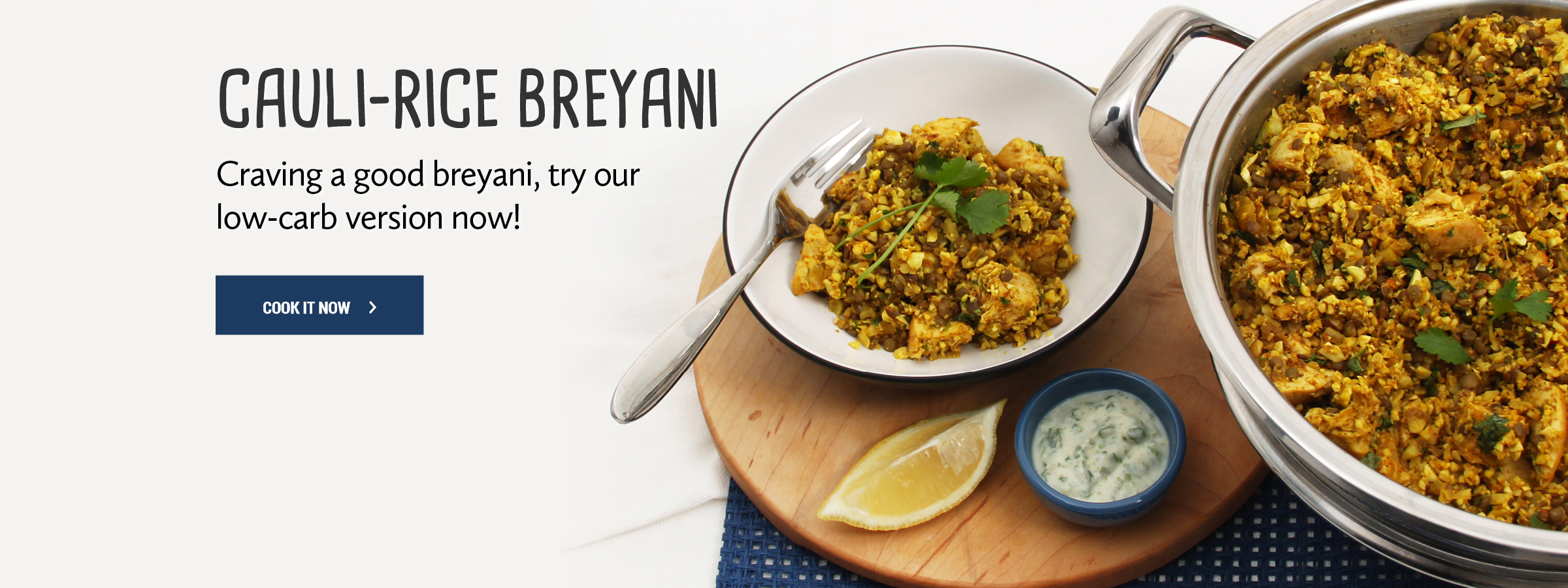 Cauliflower Rice Breyani
