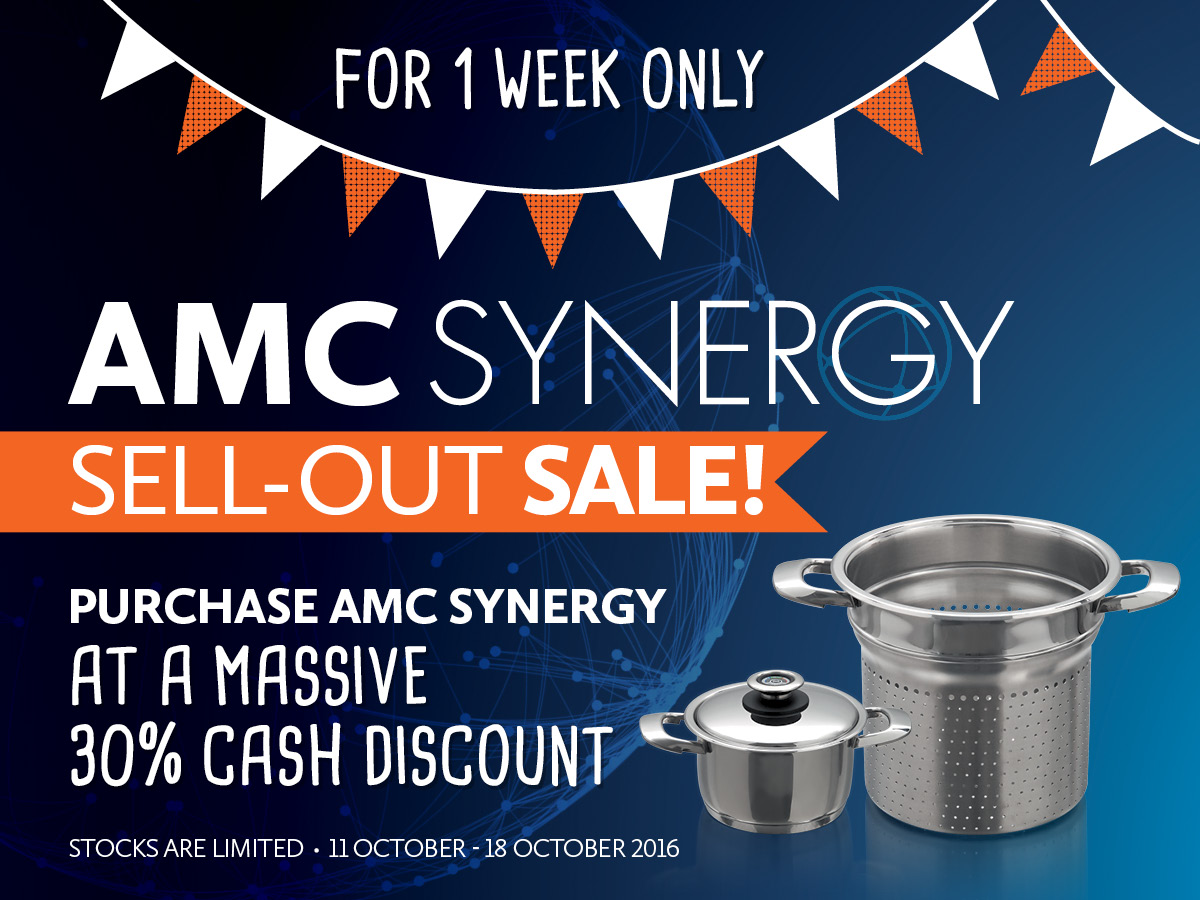 Synergy Sell-out sale 2016