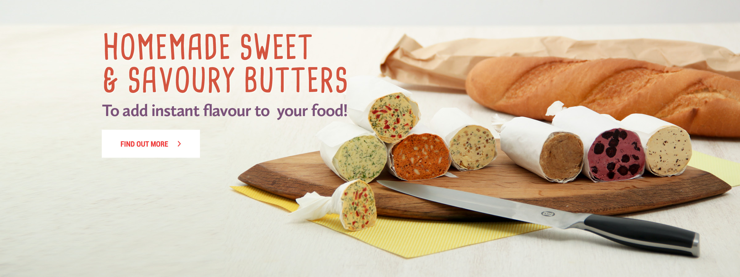 Make your own flavoured butters