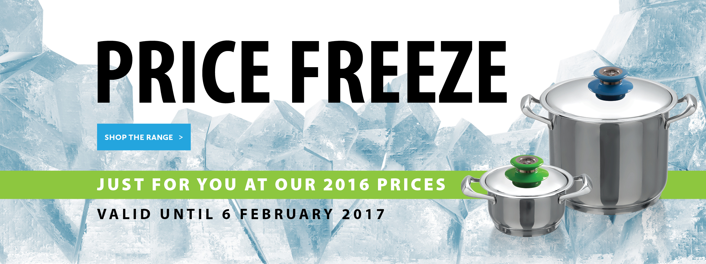 Price Freeze Banner