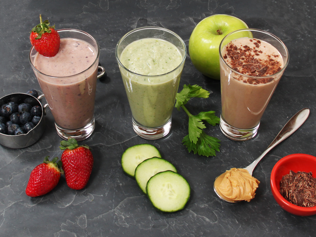 Smoothies for you to try