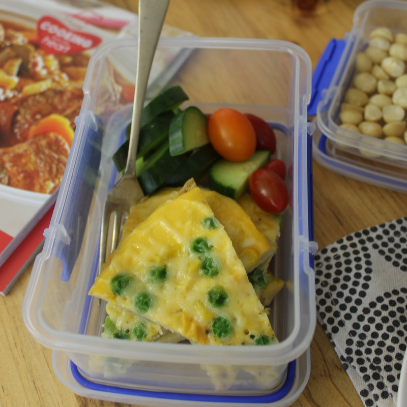 Lunch box - Pan omelette