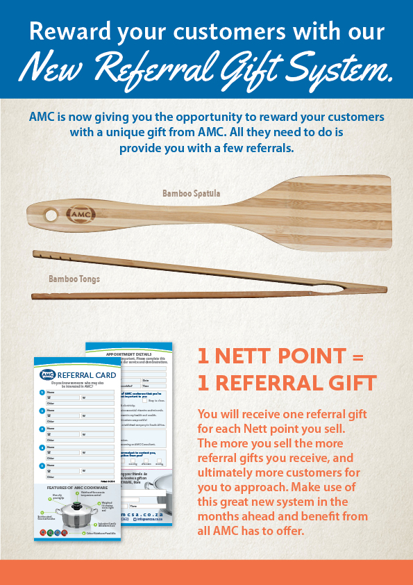 AMC Referral gift
