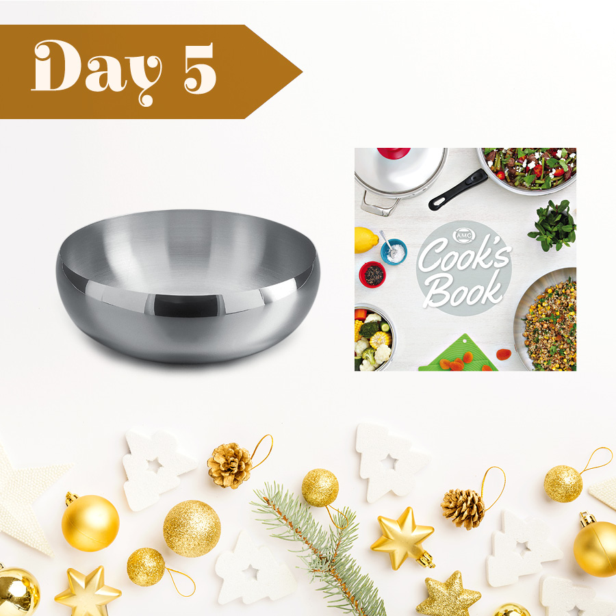 Day Five: Win an AMC Cook's Book & 24 cm Salad Bowl