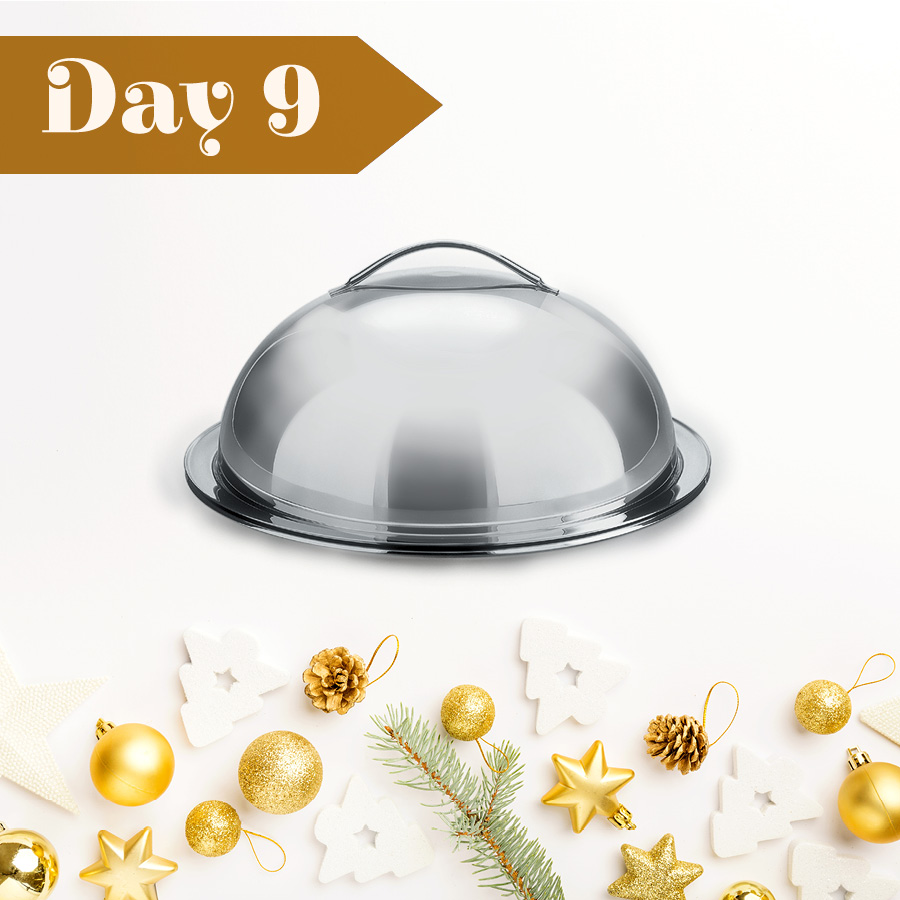 Day Nine: Win an AMC Serving Platter & Dome