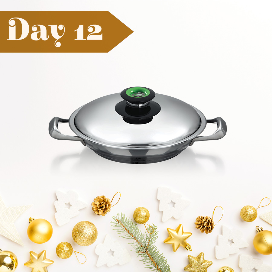 Day Twelve: Win an AMC 24 cm Chef's Pan