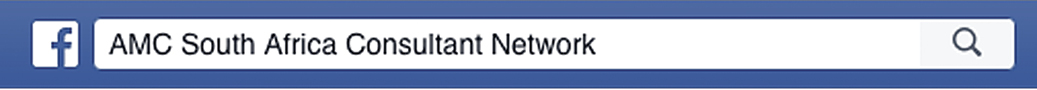 Facebook consultant network search bar