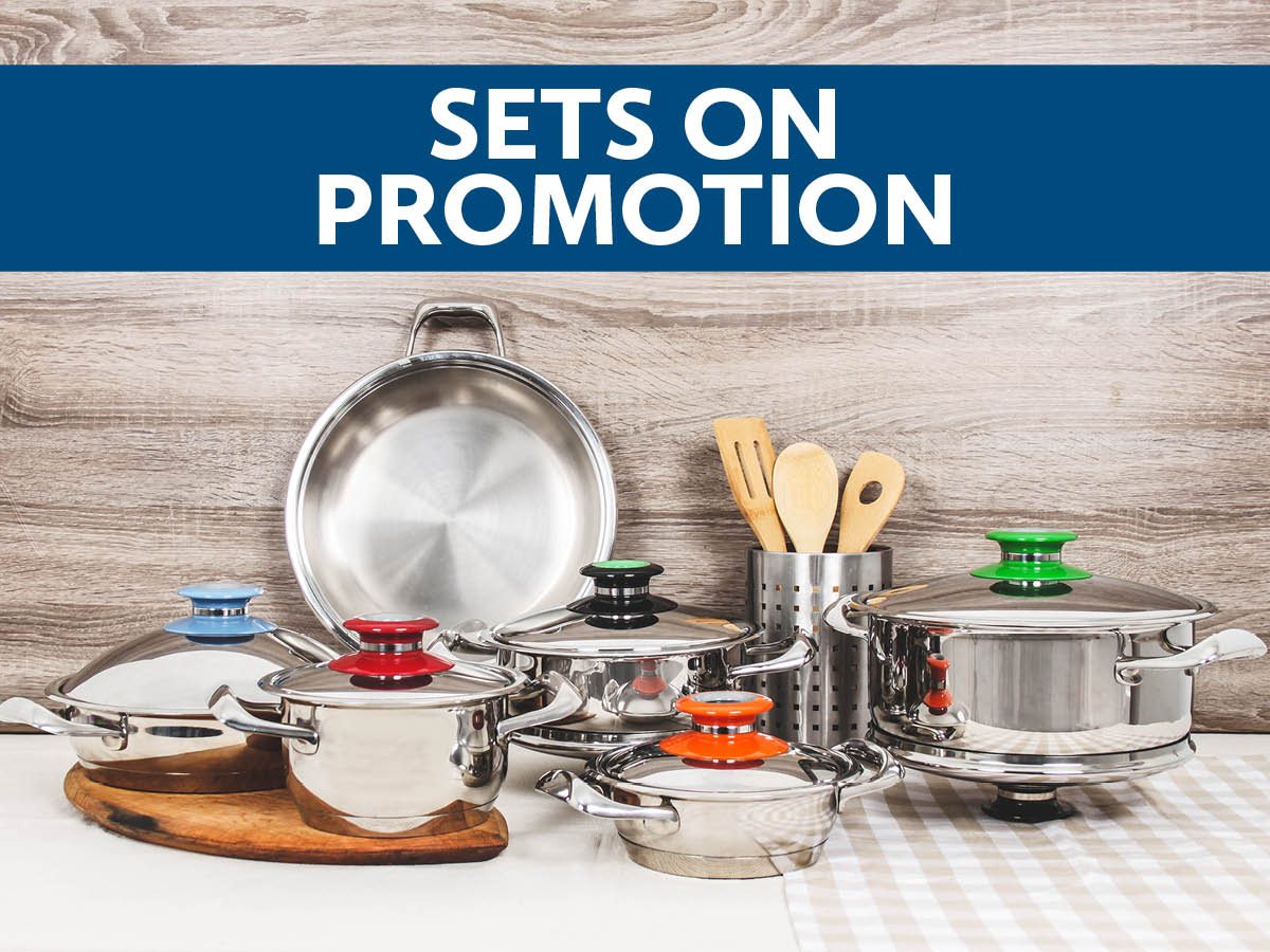Sets on promotion