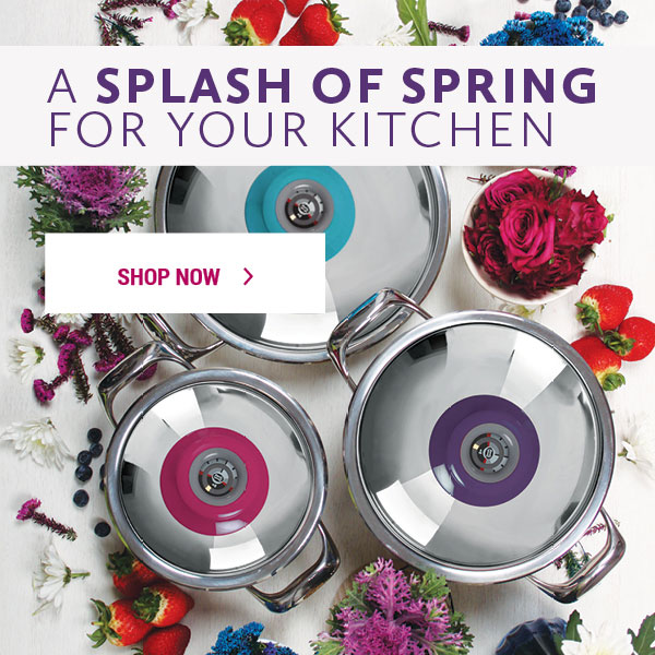 A splash of Spring for your kitchen