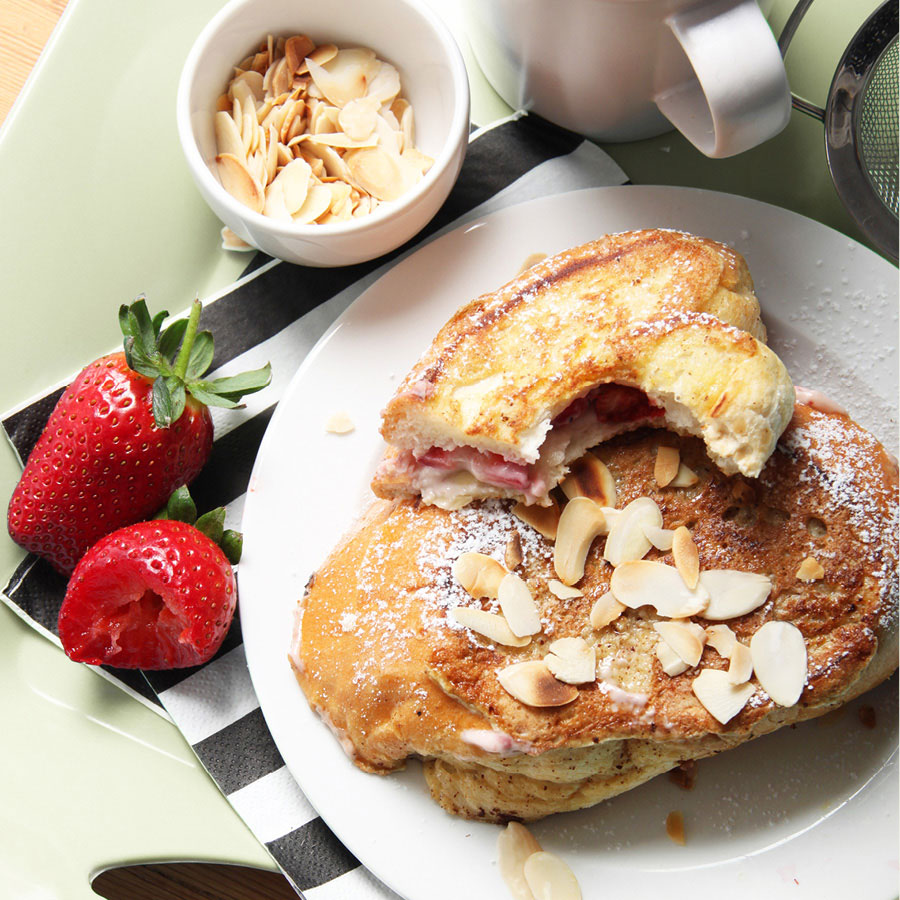 Filled french toast